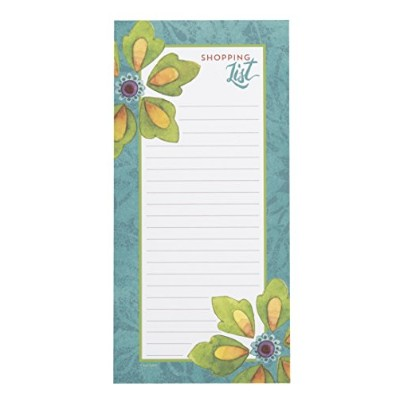 C.R. Gibson Magnetic, 75 Sheet, Shopping List Pad - Tunisian Sunset by C.R. Gibson