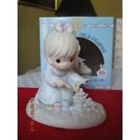 """Precious Moments """"God Bless You for Touching My Life"""" Figurine by Enesco [並行輸入品]"""