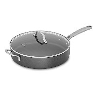 Calphalon 1943875 Classic Nonstick Saute Pan with Cover, 5 quart, Grey by Calphalon