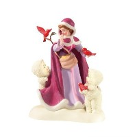 Department 56 Snowbabies Guest Collection, An Enchanting Day with Belle by Department 56 [並行輸入品]