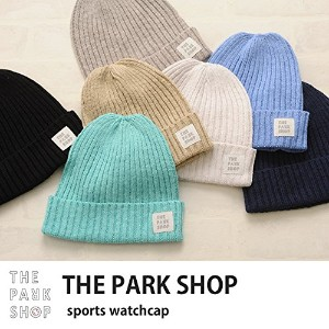 THE PARK SHOP ザ・パークショップ sports watchcap(with case) sax