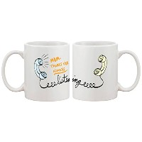 365 Printing Mom Thanks For Always Listening Mug Cup Cute Mother's Day or Christmas Gift