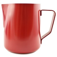 Zoie + Chloe 20 oz Non-Stick Stainless Steel Milk Steaming & Frothing Pitcher (600ml) - Coffee...