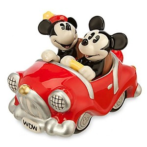 Disney Mickey and Minnie Mouse Retro Salt and Pepper Shaker Set by Disney