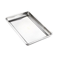 Lianzhi Hotel And Catering Business Stainless Steel Baking Pan Half Thickness 0f 0.5MM (8.66*12.60...
