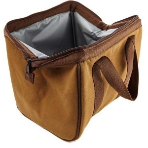 Fit and Fresh The Big Phil Insulated Lunch Carrier, Brown Cotton by Fit & Fresh