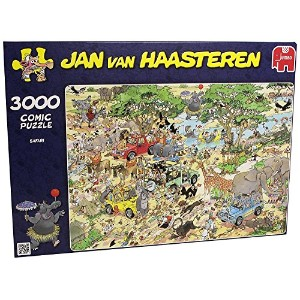 Jumbo Jan Van Haasteren Safari Puzzle (3000-Piece) [並行輸入品]