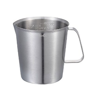 Premium 1000ML/32Oz Measuring Cup/Steaming Frothing Pitcher, With inside Markings With Handle by...