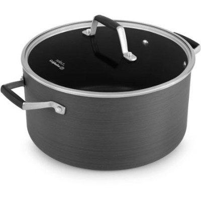 選択by Calphalon hard-anodized Nonstick 7-quart Dutch Oven withカバー