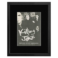 KILLING JOKE - Kings And Queens Framed Mini Poster - 53x43cm