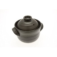 Kotobuki 190-803 Earthenware 1.5 Cup uncooked resulting in 4 Cup cooked Rice Cooker, Matte Black ...