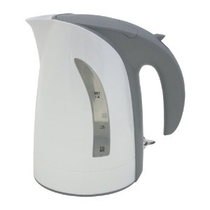 10 Cup / 1.8 Liter White Milano Cordless Electric Kettle by ZUCCOR (BOIL-DRY PROTECTED / U.K. MADE HEAT CONTROL) [並行輸入品]