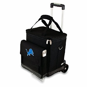 NFL Insulated Cellar Six Bottle Wine Tote with Trolley [並行輸入品]