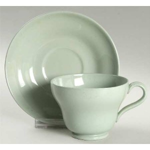 Wedgwood Celadon Green – Cup & Saucer