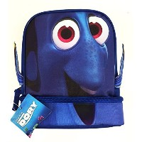 Disney Pixar Finding Dory Dual Compartment Hot/Cold Foam Insulation Lunch Bag Box [並行輸入品]