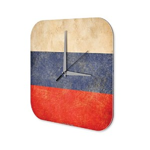 壁時計 wall clock Wall Decor Adventurer Russia Acryl Plexiglass