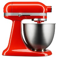 KitchenAid キッチンエイド スタンドミキサー KSM3311XHT Artisan Mini Series Tilt-Head Stand Mixer, 3.5 quart [並行輸入品]...