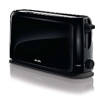 Philips HD2598/90 Daily Collection Toaster Large Size Cool Black 220V フィリップスHD2598 / 90デイリーコレクショントース...