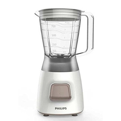 Philips Blender HR2051/00 Daily Collection 350 W 1.25 L Plastic jar 4 stars stainless steel blade &...