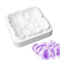 New Arrival Sky Cloud White Silicone Cake Mold 3D Fondant Cake Decorating Tools for Baking...