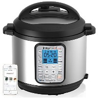 Instant Pot IP-Smart Bluetooth-Enabled Multifunctional Pressure Cooker, Stainless Steel by Instant...