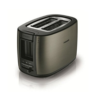 Philips HD-2628/89 2-Slice Toaster Bagel Toaster BreadMaker Brunch maker Black フィリップスHD-2628/89...