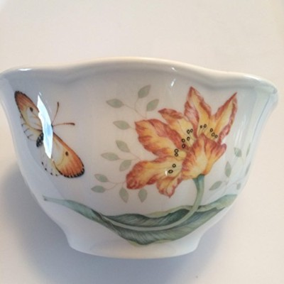 LenoxバタフライMeadow Dinnerware Dragonfly Rice Bowl