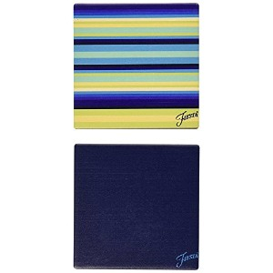 Thirstystone Occasions Stoneware Drink Coasters, Fiesta Cool Stripe Trivet [並行輸入品]