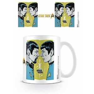 ■スタートレック 50周年 [Mirror Mirror] 陶器製マグカップ■STAR TREK 50th Anniversary [Mirror Mirror] Ceramic Mug ■CBS...
