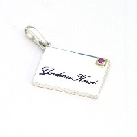 Silver925 Mail Pendant Top/メール ペンダント トップ