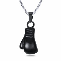 PF : Men's Fist Necklace Cool Gold Plated Boxing Glove Design Necklaces & Pendants Men Jewelry