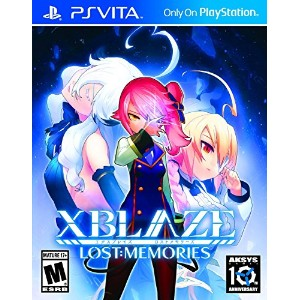 Xblaze Lost Memories (輸入版:北米) - PS Vita