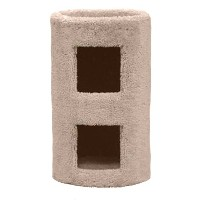 Classy Kitty 21 2 Story Cat Condo 13.5x13.5x26 by North American Pet