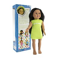 "Springfield Collection Pre-Stuffed Doll 18""-Sofia-Dark Hair and Brown Eyes (並行輸入品)"