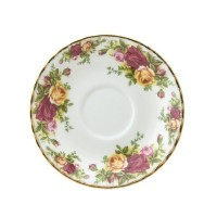 Royal Albert Old Country Roses Cream Soup 6-1/2-ounce Saucer by Royal Albert