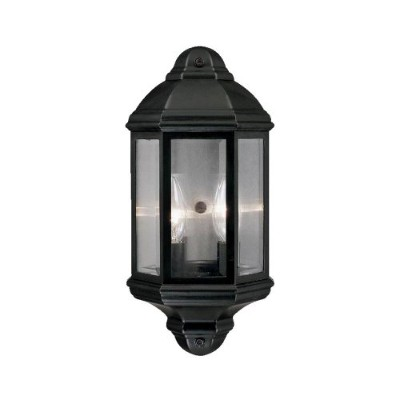 Acclaim 6002BK Pocket Lantern Collection 2-Light Wall Mount Outdoor Light Fixture, Matte Black by...