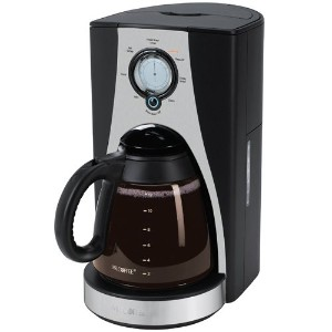 Mr. Coffee LMX27 12-Cup Programmable Coffeemaker, Stainless Steel by Mr. Coffee