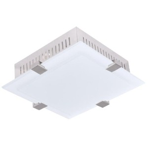 Livex Lighting 7092-91 Mercury 3-Light Ceiling Mount, Brushed Nickel by Livex Lighting