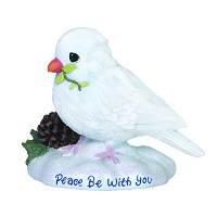 Precious Moments Peace Be with You Figurine [並行輸入品]