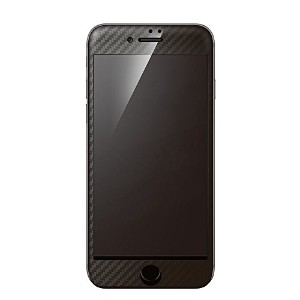 Deff ディーフ Hybrid 3D Glass Screen Protector for iPhone 7 Carbon (iPhone 7, ブラック)