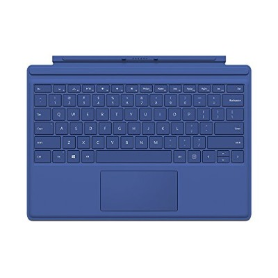 Microsoft Surface Pro 4 Type Cover (Blue)(US Version, Imported)