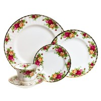 Royal Albert Old Country Roses 5-Piece Place Setting, Service for 1 by Royal Albert