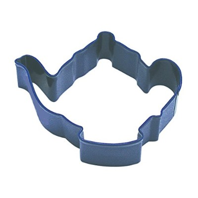 Teapot Poly-Resin Coated Cookie Cutter Navy