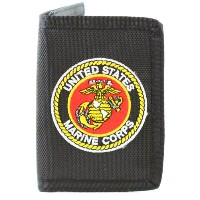 US Marine Corps Wallet Military Collectibles、愛国のギフトメンズ、レディース、ティーン、Veterans Great Gift Idea For妻、夫...