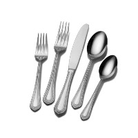 Mikasa Regent Bead 20-Piece Stainless Steel Flatware Set, Service for 5 by Mikasa