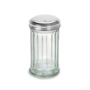 Anchor Hocking 97286 Glass Sugar Shaker with Stainless Steel Lid by Anchor Hocking