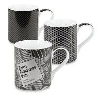 Konitz High Tech Mugs, Set of 3 by Konitz [並行輸入品]