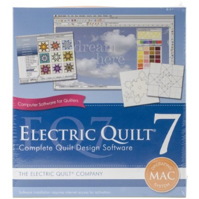 Electric Quilt 7 For MAC- (並行輸入品)