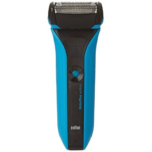 Braun Waterflex Wet and Dry Shaver, Blue [並行輸入品]