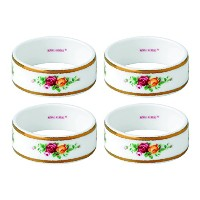 Royal Albert Old Country Roses Napkin Ring (Set of 4), 2.2, Multicolor by Royal Albert